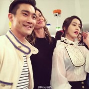 150504 Siwon at Chanel event4