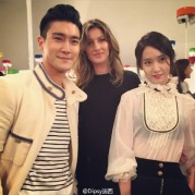 150504 Siwon at Chanel event6