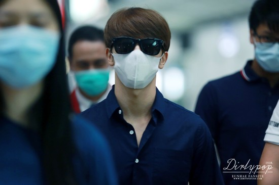 150619-Eunhae at HK airport1
