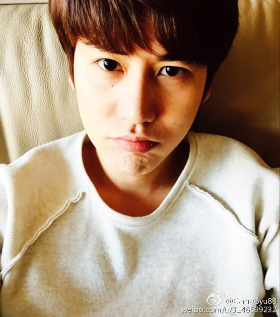 150622 kyuhyun weibo update miss you all