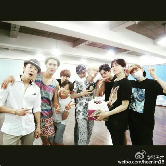 150710 heenim weibo