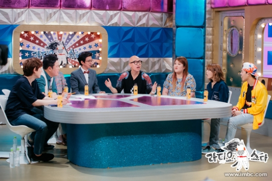 150721 MBC 'Radio Star' Official Update with Kyuhyun 1