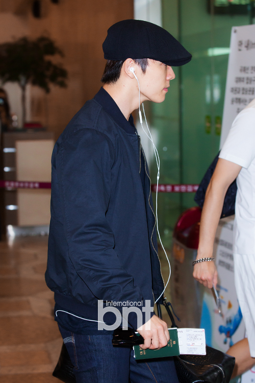 150725 Official, Yesung, Donghae, Ryeowook at Gimpo Airport (to Osaka)3