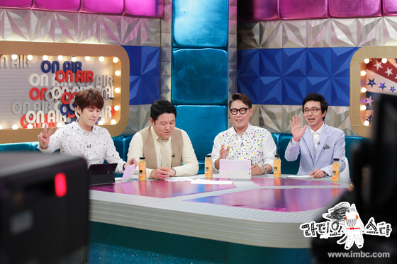 150727 MBC 'Radio Star' Official Update with Kyuhyun1