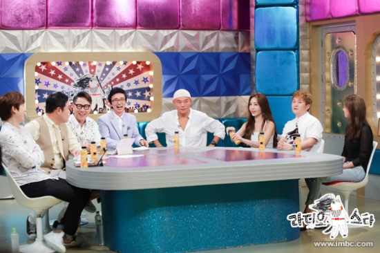 150727 MBC 'Radio Star' Official Update with Kyuhyun4