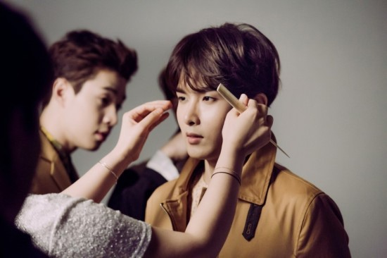 150727 milktst Naver Blog Update with Super Junior-M14