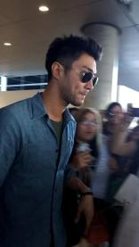 150731 Siwon at LAX By sportylorrie