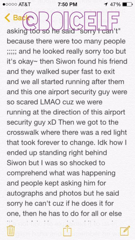 150731 Siwon at LAX Fan Account 2