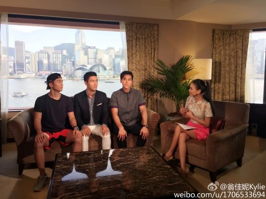 150803 翁佳妮Kylie Weibo 2