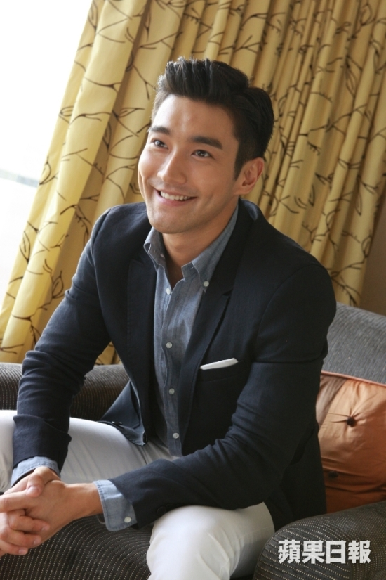 150803 Official Apple Daily interview with siwon 2
