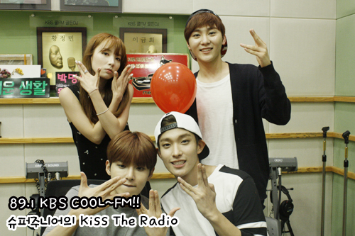 150814 Sukira (KTR) Official Update with Ryeowook1