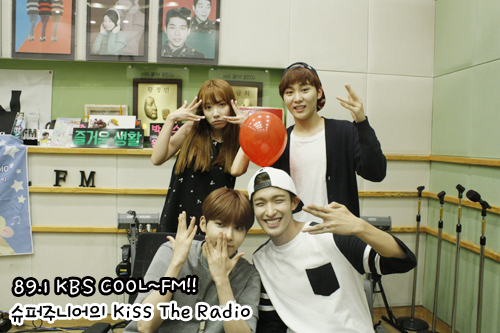 150814 Sukira (KTR) Official Update with Ryeowook2