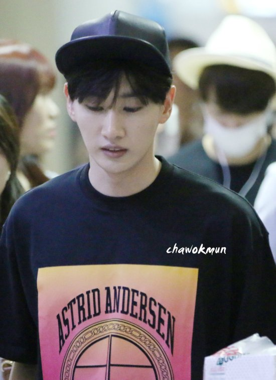 150815 Leeteuk, Eunhyuk and Donghae at Incheon Airport (from Taiwan) 4