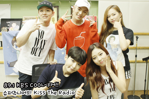 150829 Sukira (KTR) Official Update with Ryeowook1