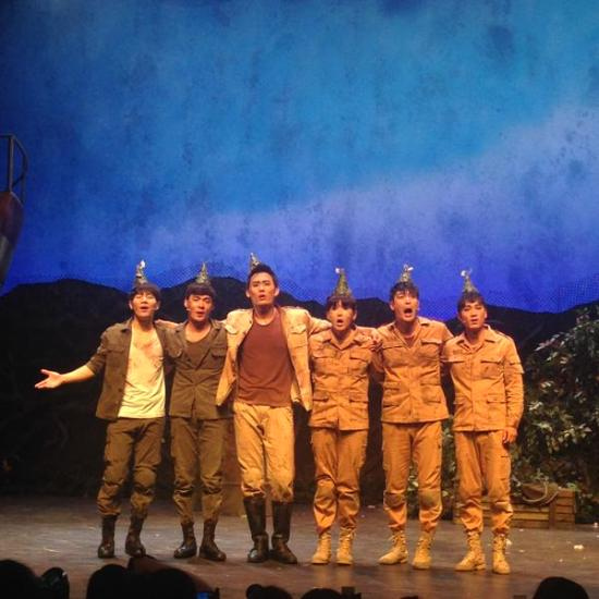 150830 'The Goddess Is Watching' Musical with Ryeowook (1)