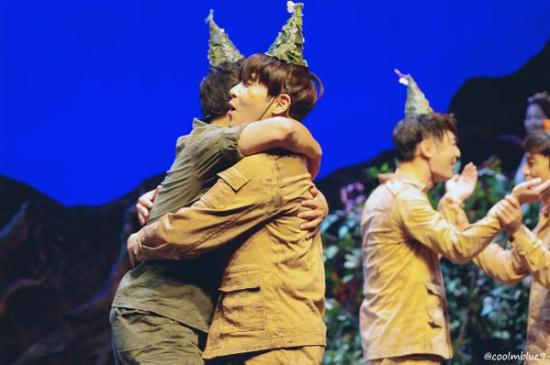 150830 'The Goddess Is Watching' Musical with Ryeowook (2)