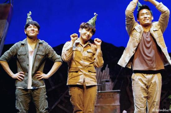 150830 'The Goddess Is Watching' Musical with Ryeowook (4)