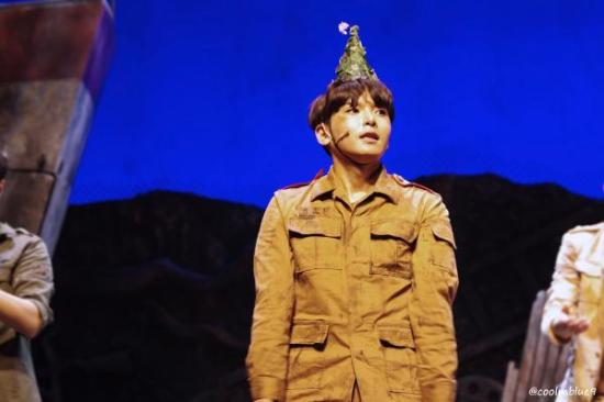 150830 'The Goddess Is Watching' Musical with Ryeowook (7)