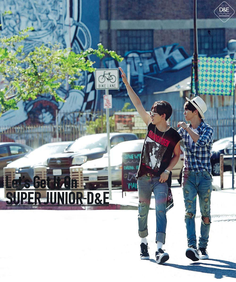 151002 Super Junior D&E 'Let's Get It On' Album (HQ Scans ...