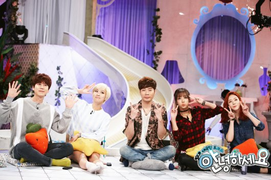 151023 KBS Talk Show 'Hello' Official Update with Kyuhyun [P] |