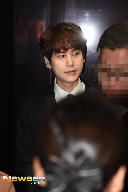 151128 Official, Kyuhyun at Dongho's Wedding1
