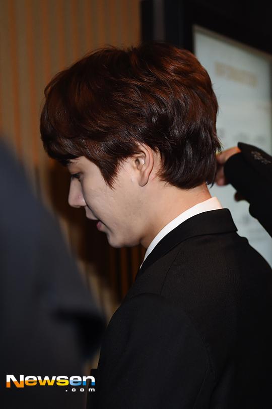 151128 Official, Kyuhyun at Dongho's Wedding2