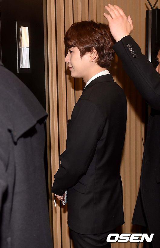 151128 Official, Kyuhyun at Dongho's Wedding3