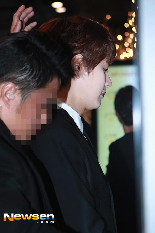 151128 Official, Kyuhyun at Dongho's Wedding4