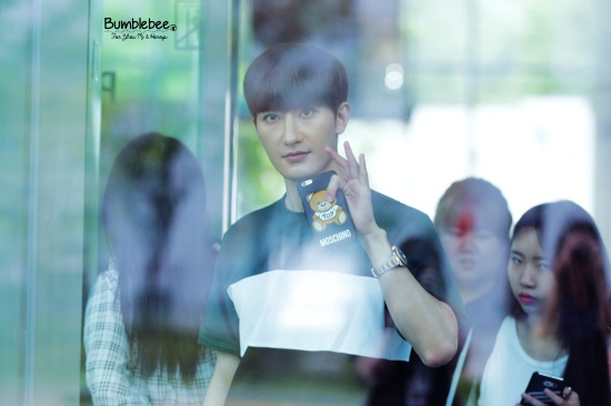 160726 Zhou Mi at SBS Prism Tower (3)