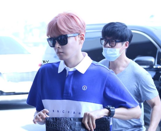 160812 Ryeowook and Kyuhyun at Gimpo Airport (to Tokyo)2