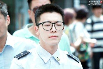 160829 Donghae at Myeongdong by Charmander1015 1