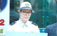 160829 Donghae at Myeongdong by Charmander1015 4