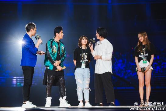 160829 Heechul at LOL Anniversary 8