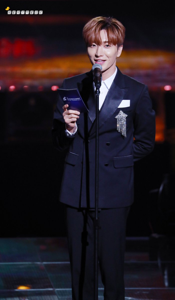 180214 7th Gaon Chart Music Awards with Leeteuk [14P] |